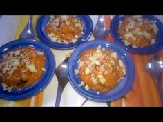 A sweet delight for all my viewers: Delicious Moong Dal Halwa.Wish u all a very Happy Diwali. Here is the list of ingredients and method of it. Ramzan Special Recipes, Indian Desserts, Happy Diwali, Sweet, Food, Kitchens, Candy, Essen, Meals