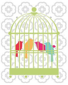 I have a little bird theme going already...