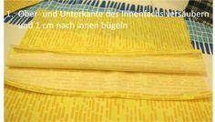 Easy Peasy Tasche - stoffART Bio- und Designerstoffe Bamboo Cutting Board, App, Sew Tote Bags, Jean Bag, Beaded Jewelry, Sachets, Handbags, Diy, Tutorials