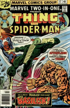 Marvel Two-in-One #17: This City -- Afire!