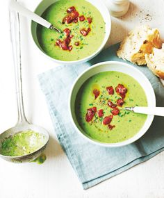 Pea & Chorizo Soup | Asda Good Living