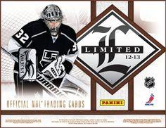 2012-13 Panini Limited Hockey Cards Hobby Box - $100.00