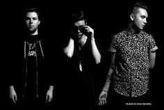 Jeremy, Zach, and Mikey. Mikey looks gorgeous srsly they all do tho okay how? The Black Keys, Black And White, Zach Abels, Jesse Rutherford, The Lumineers, Daddy Issues, The 1975, The Weeknd, Imagine Dragons