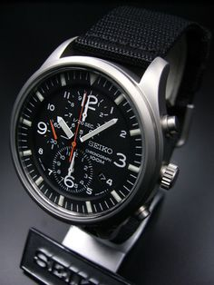 Watches Wanted — Seiko Military Chronograph SNDA57P1 - $140