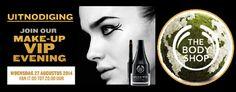 The Body Shop make-up VIP evening. Klik op de afbeelding om een verslag te lezen.