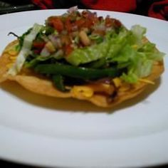 Low Fat Chicken Tostadas - Allrecipes.com