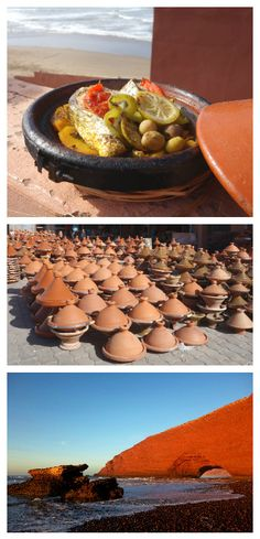 Fish tajine recipe - Authentic Moroccan recipe from a beautiful beach Lagzira (source: my personnal food and travel blog / vlog with recipes, authentic video recipes, street food, food and travel documentary, travel info and more. Welcome! :) )