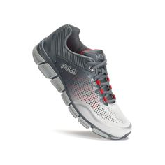 Fila® Acumen Energized Men's Running Shoes, Size: 7.5, Grey Other, Durable
