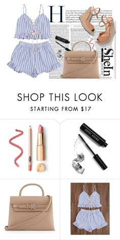 """""""FRILLY & FUN"""" by tamarasimic ❤ liked on Polyvore featuring Bobbi Brown Cosmetics, Alexander Wang and Schutz"""