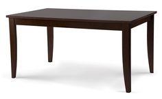 Stół drewniany Alsace NF - Nowy Styl | DB Meble #stol #alsace #nowystyl #meble #kawiarnia  http://dbmeble.pl/produkty/alsace-nf-stol-drewniany/