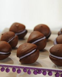 Chocolate Whoopie Pies with Cassis Filling Recipe