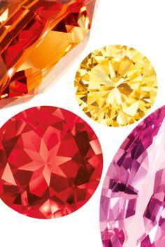 Tiffany gemstones kindle nature's most incandescent colors. #TiffanyPinterest #TiffanyBlueBook