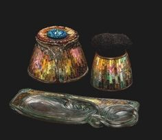 "Clara Driscoll, head of the Women's Glass Cutting Department at Louis C. Tiffany's famous firm, was born on this day in 1861. As head of the Women's Glass Cutting Department, Driscoll designed many of the luxury ""fancy goods"" produced by at Tiffany's..."