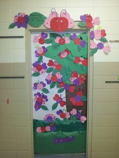 Valentines Door! Love Bugs!