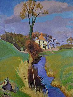 Jan Altink (1885 -1971) werd in 1900 ingeschreven aan de Academie Minerva als leerling aan de avondcursus. Hij won gedurende zijn opleiding vele prijzen en medailles. In 1911 haalde hij zijn akte M.O.Tekenen. Hij verdiende zijn inkomen met lesgeven aan avondteken-cursussen en als decoratieschilder.