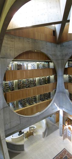 Phillips Exeter Academy Library /// Louis Kahn
