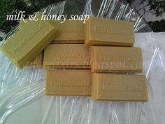 Diy Beauty Elixir, Honey Soap, Milk And Honey, Beauty Recipe, Soap Making, Diy And Crafts, How To Make, Blog, Handmade