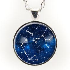 Sagittarius Constellation Necklace, Astrology Zodiac Pendant – CellsDividing