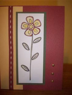 flower card by jkluttrell - Cards and Paper Crafts at Splitcoaststampers