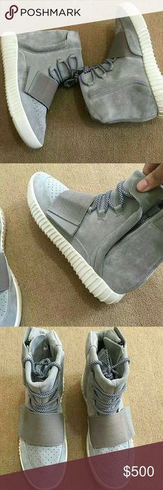 9a8eaef5e Adidas Yeezy Boost 750 Grey White B35309 Size 5-12  Yeezy Shoes Athletic  Shoes