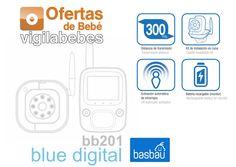basbau bb201 blue digital vigilabebes con camara baratos antiguo rimax caracteristicas
