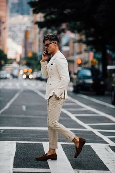 Street Style à la Fashion Week homme printemps-été 2018 à New York