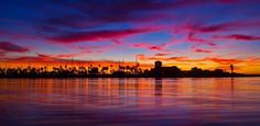 """Ventura harbor sunset, if you are ready to make the move to Ventura, please give """"Surf Realty"""" a call! 805/444-0100"""