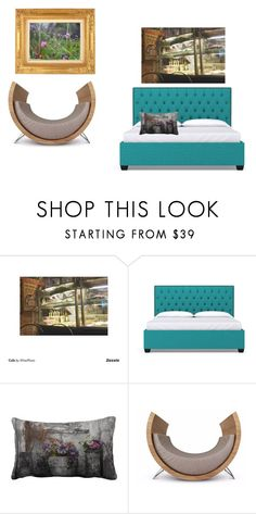 """""""Artistic Bedroom"""" by wisephoto on Polyvore featuring interior, interiors, interior design, home, home decor, interior decorating, bedroom and modern"""