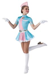 Novelty Dance Costumes | Dansco | Dance Fashion 2014 2015 | Pinterest Keywords: Pan Am Flight Attendent | Costume Name: Ready for Takeoff 15582