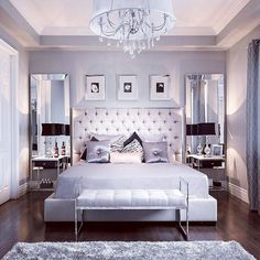 Love this... Ideas for the bedroom ---------------------------- #homedecor #bedroomdecor #bedroomideas #November #inspiration #inspired #interiordesign #instagood #modern #purpleswag #decoratingideas #homedecorideas #bedroomgoals #interiorstyling