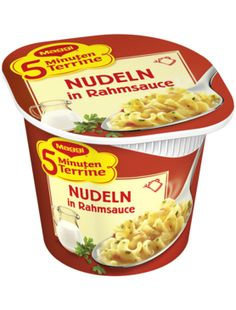 Nudeln in Rahmsauce wenn es mal schnell gehen muss :) So kann Mann auch kochen :)