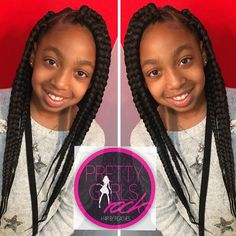 Jumbo box braids! Quick, simple and convenient! Always neat always PRETTY!