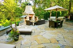 Outdoor Kitchen - Glencoe, IL - Photo Gallery - Landscaping Network