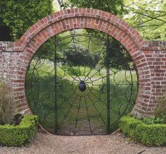 10 Interesting Tips: Garden Fencing Screening glass fence porches.Fence And Gates Philippines. Tor Design, Gate Design, Rustic Gardens, Outdoor Gardens, Tea Gardens, Garden Gates, Garden Art, Garden Plants, Moon Gate