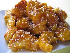 Chinese Honey Chicken Recipe | KeepRecipes: Your Universal Recipe Box Think Food, I Love Food, Good Food, Yummy Food, Yummy Yummy, Delish, Chinese Honey Chicken, Honey Sesame Chicken, Orange Chicken