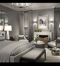 In love with this space! Grays.