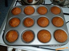 Uzasny recept, kedze nemusim nic vazit a je variabilny. Cap Cake, Croissants, Griddle Pan, Ham, Cooker, Food And Drink, Breakfast, Sweet, Recipes