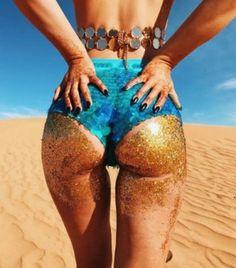 Der neueste Beauty-Trend: Glitter-Butts
