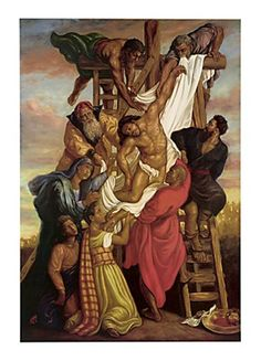 Descent from the Cross Art Print at It's A Black Thang