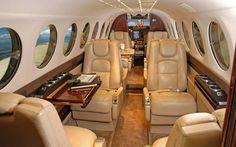 Beechcraft King Air 350 Interior Example