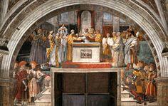 Stanza dell'Incendio di Borgo Giuramento di Leone III - R. Sanzio
