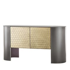 Designed by Nikita Bettoni, this contemporary sideboard has a simple yet rigorous silhouette with geometric forms that intersect to create a unique, visually. Top Furniture Stores, Loft Furniture, Cabinet Furniture, Metal Furniture, Furniture Decor, Furniture Design, Furniture Dolly, Street Furniture, Urban Furniture