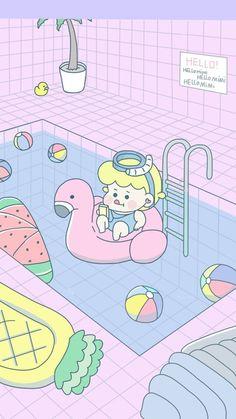 mimi游泳