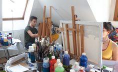 Výtvarné kurzy VytFit- Zážitkové, tvorivo- experimentálne kurzy kreslenia, malovania pre každého, Kreatívne dielne v oblastiach kresba, malba, grafika, úžitkové umenie, príprava na SŠ, VŠ- architektúra, design, animovaná tvorba, teambuildingové akcie a workshopy pre firemné kolektívy Bratislava