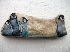 Art Rocks by Karen. (Painted rocks? Yes, I would love to paint rocks!)