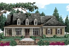 Rosewood - Home Plans and House Plans by Frank Betz Associates