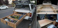 Toyota Tacoma With A Bed And Drawer System - iCreatived