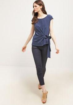 MAX&Co. - CORNICE - T-shirt z nadrukiem - navy blue