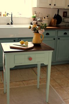 REPURPOSE A SEWING TABLE. : EBTH