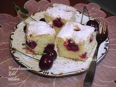 Receptek, és hasznos cikkek oldala: Kefires meggyes pite Kefir, Cheesecake, Baking, Cakes, Food, Cake Makers, Cheesecakes, Bakken, Kuchen